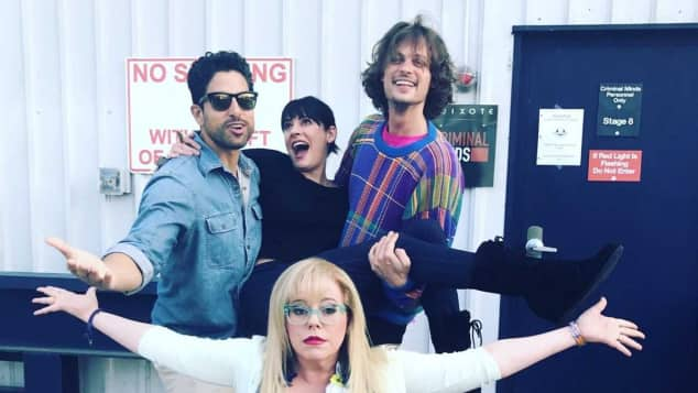 Adam Rodriguez Paget Brewster Matthew Gray Gubler Kirsten Vangsness Criminal Minds Cast
