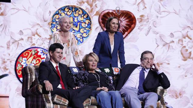 """Der """"Roseanne""""-Cast im Jahr 2017"""