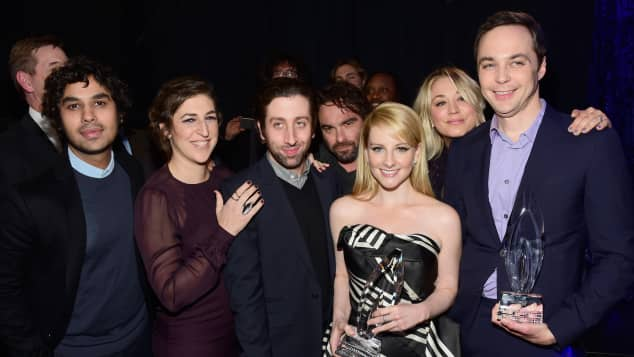 "Der ""The Big Bang Theory""-Cast"