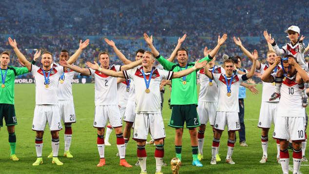 deutsche Nationalmannschaft WM 2014
