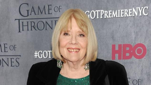 """Selbst mit über 70 Jahren steht Diana Rigg noch für """"Game of Thrones"""" vor der Kamera"""