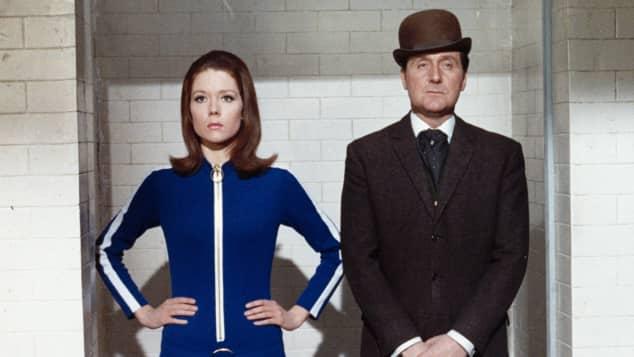 """Diana Rigg und Patrick Macnee machten die Serie """"Mit Schirm, Charme und Melone"""" zum Dauerbrenner"""