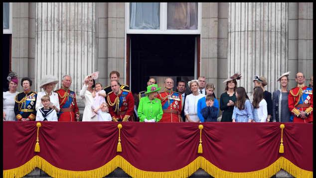 Die britischen Royals feiern den 90. Geburtstag der Queen