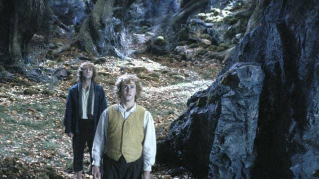 """Dominic Monaghan und Billy Boyd in """"Der Herr der Ringe: Die zwei Türme"""""""