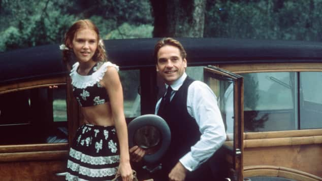 "Dominique Swain und Jeremy Irons in ""Lolita"" 1997"