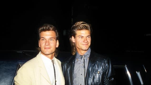 Patrick und Don Swayze