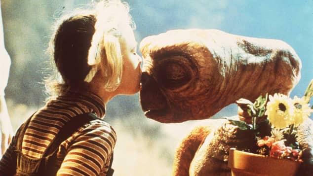 Drew Barrymore und E.T.