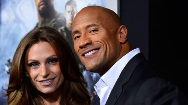 Dwayne Johnson und seine hübsche Freundin Lauren Hashian