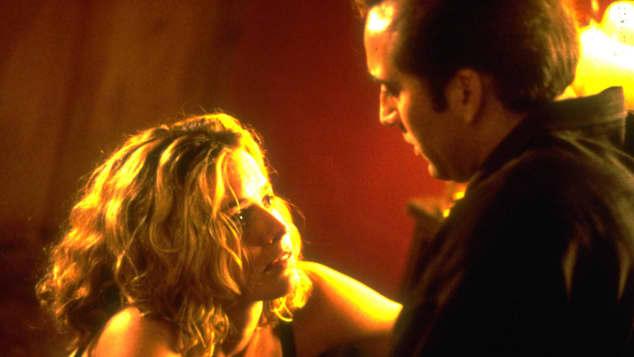 """Elizabath Shue und Nicolas Cage in """"Leaving Las Vegas"""""""