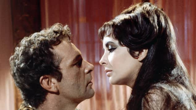 """Am Set von """"Cleopatra"""" lernten sich die beiden Schauspieler kennen und lieben"""