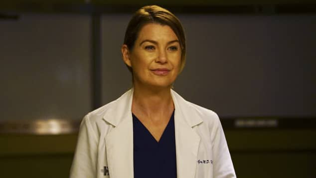 "Ellen Pompeo alias ""Dr. Meredith Grey"" in ""Grey's Anatomy"""