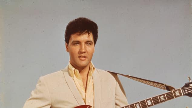 Elvis Presley Gitarre Musiker Legende