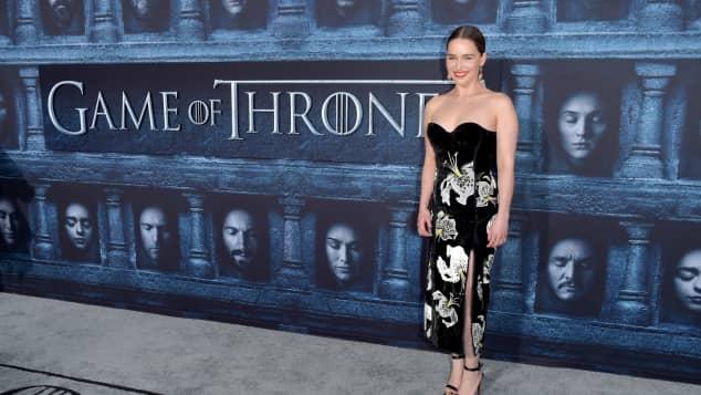 """Emilia Clarke """"Game of Thrones"""" Premiere"""