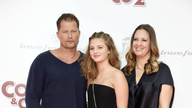 Emma Schweiger und Eltern