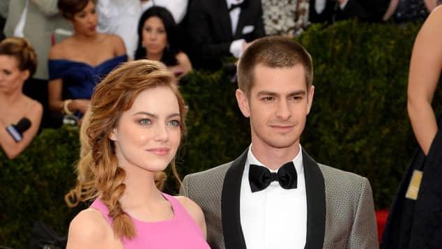 """Emma Stone und Andrew Garfield bei der """"Charles James: Beyond Fashion""""-Gala"""
