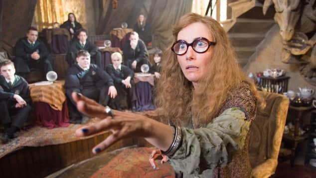 """Emma Thompson als """"Sybill Trelawney""""in """"Harry Potter und der Gefangene von Askaban"""""""