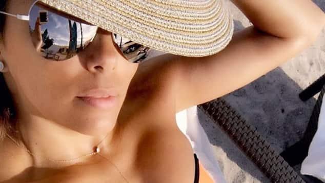 Eva Longoria zeigt ihren Traumkörper im sexy Bikini