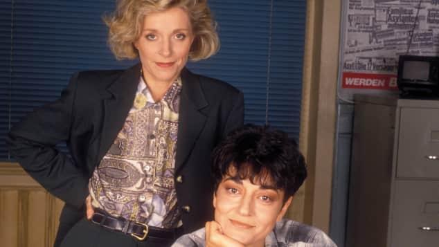 """Eva Scheurer und Despina Pajanou waren das erste Kommissarinnen-Duo bei """"Doppelter Einsatz"""""""