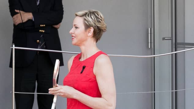 Fürstin Charlène Formel 1 Preis von Monaco