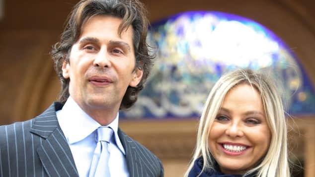 Fabrice Kerherve und Ornella Muti sind ein Paar