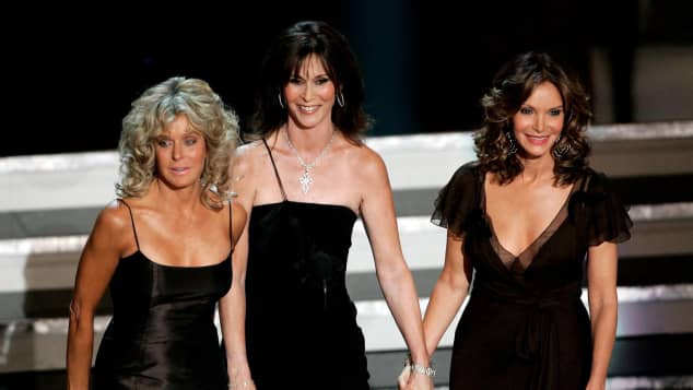 Jaclyn Smith Kate Jackson Farrah Fawcett
