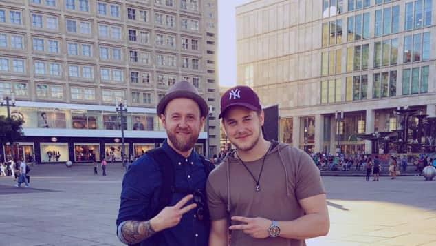 Felix van Deventer und sein Bruder machen gemeinsam Berlin unsicher