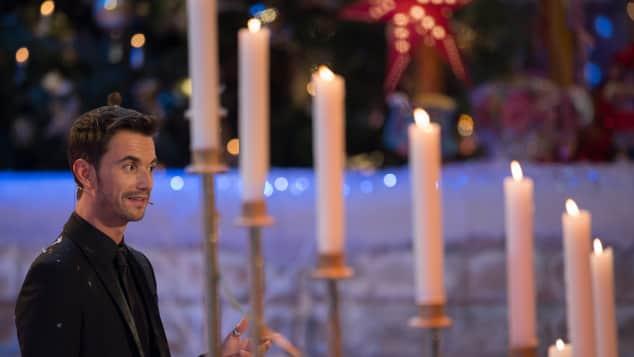 """Florian Silbereisen beim """"Adventsfest der 100.000 Lichter"""" 2014"""