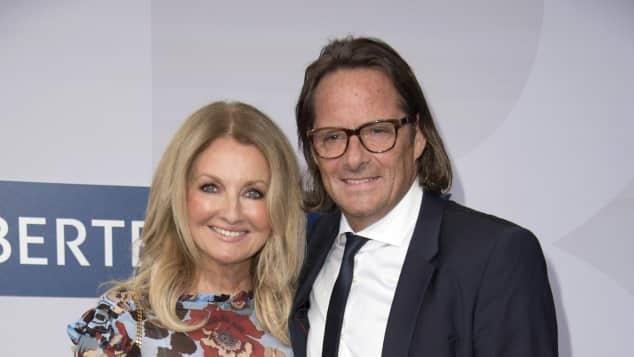 Frauke Ludowig und ihr Mann Kai Roeffen bei einem Event im Jahr 2016