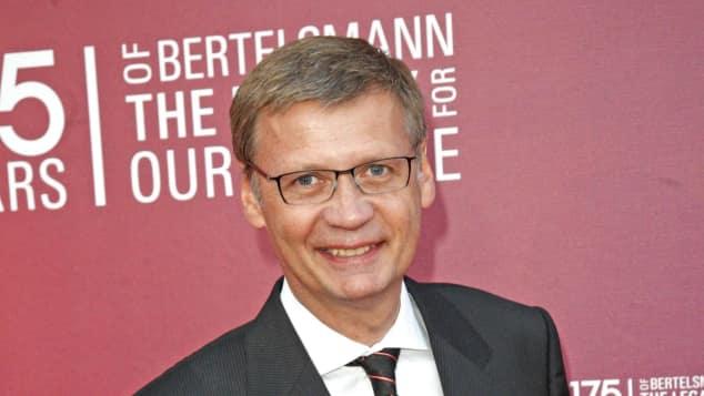 Moderator Günther Jauch im Jahr 2010