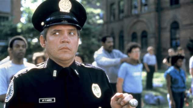 "G. W. Bailey 1984 als ""Thaddeus Harris"" in ""Police Academy"""