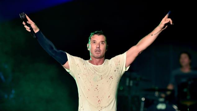 Rocker Gavin Rossdale bei einem Bush-Konzert
