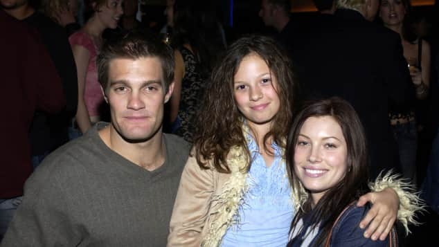 Geoff Stults, MacKenzie Rosman and Jessica Biel at The Future Through TV & Film event.