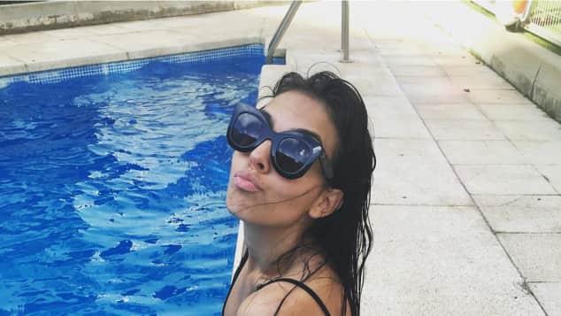 Georgina Rodriguez ist die Freundin von Cristiano Ronaldo