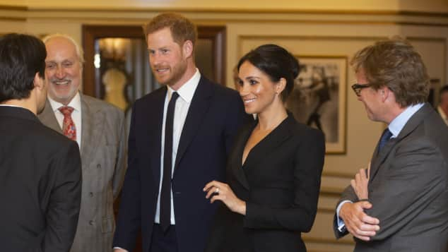 Duchess Meghan at the Victoria Palace Theatre