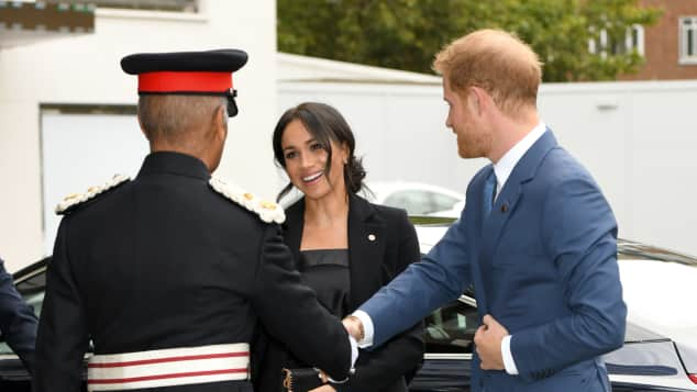 The Duchess of Sussex at the WellChild Awards