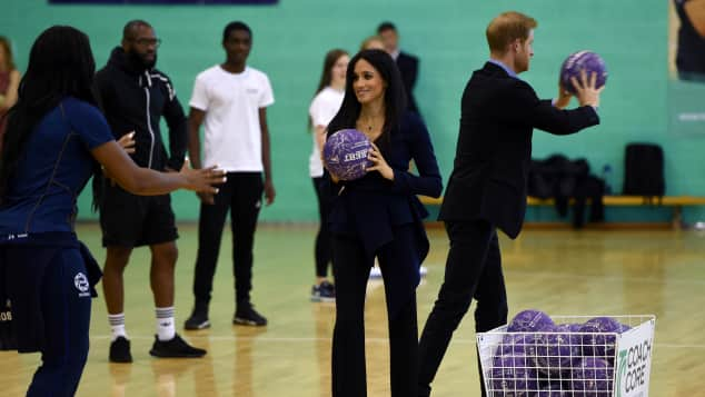 Duchess Meghan and Prince Harry at the Coach Core Awards