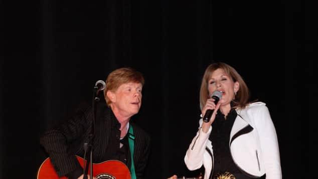 Jon Walmsley and Judy Norton