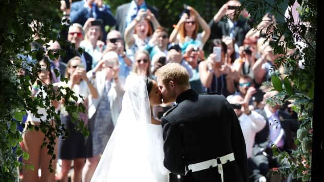 Prinz Harry und Meghan Markle bei ihrer traumhaften Hochzeit, Prinz Harry, Meghan Markle
