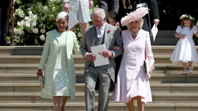 Doria Ragland, The Duchess of Cornwall and Prince Charles