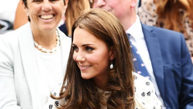 Duchess Catherine at Wimbeldon 2018