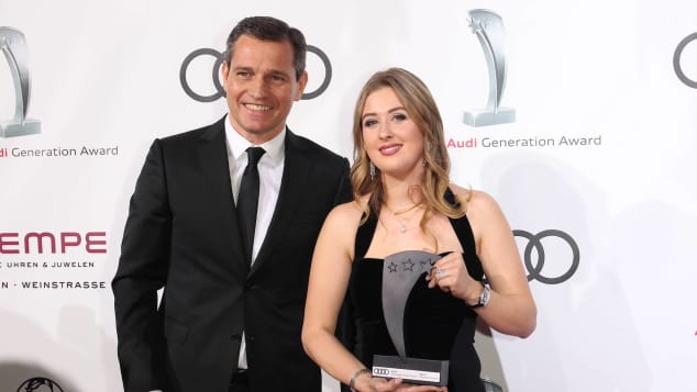 Audi Generation Awards Gina-Maria Schumacher Michael Mronz