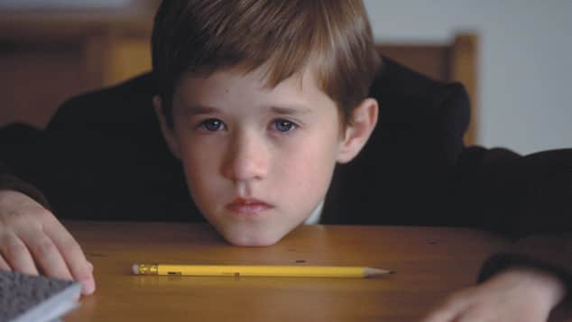 "Haley Joel Osment in ""The Sixth Sense"""