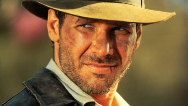 "Harrison Ford als ""Indiana Jones"""