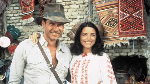 """Harrison Ford and Karen Allen in """"Indiana Jones"""""""