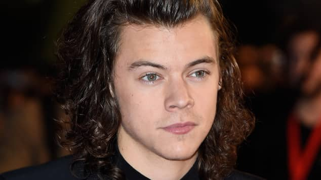 Harry Styles von der Boyband One Direction