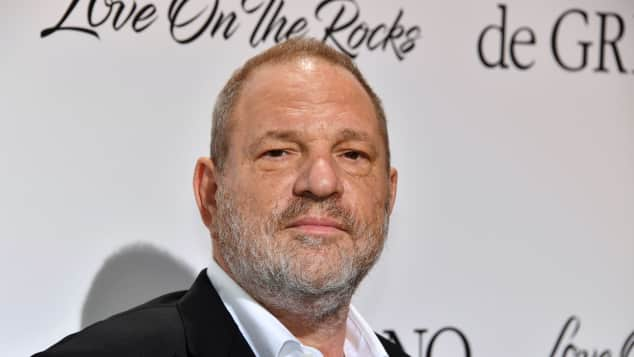 Film-Produzent Harvey Weinstein