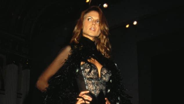 Heidi Klum (1997) im sexy Outfit