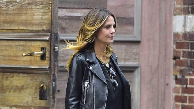 Heidi Klum cooler Style