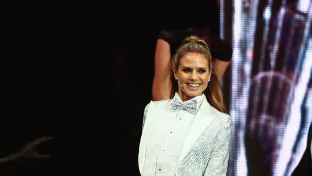 Heidi Klum beim GNTM-Finale 2017