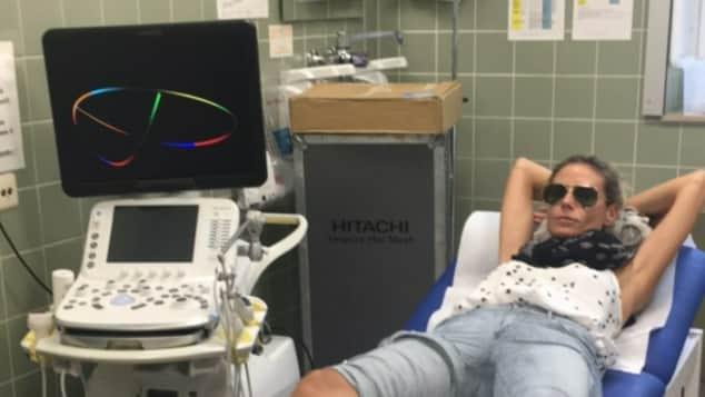 Heidi Klum verletzt